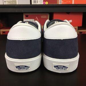 8ef3c2bde166 Vans Shoes - Vans Wally 3 Varsity Sport  73 Navy White Mens New